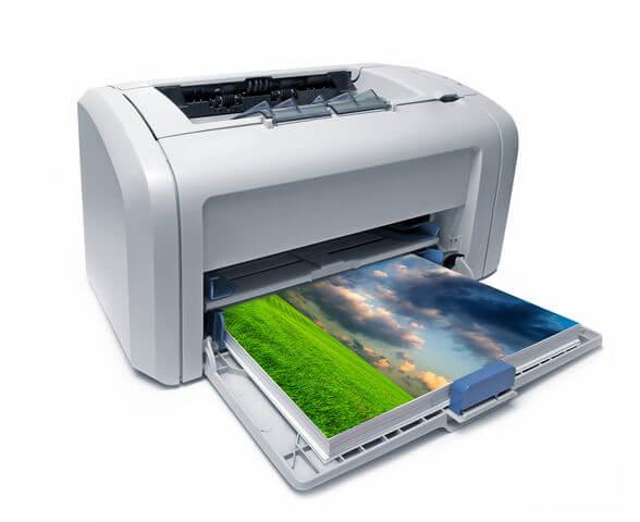 Farben Laserdrucker einstellen