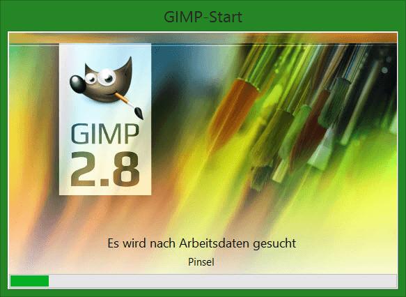 01 Gimp Starten