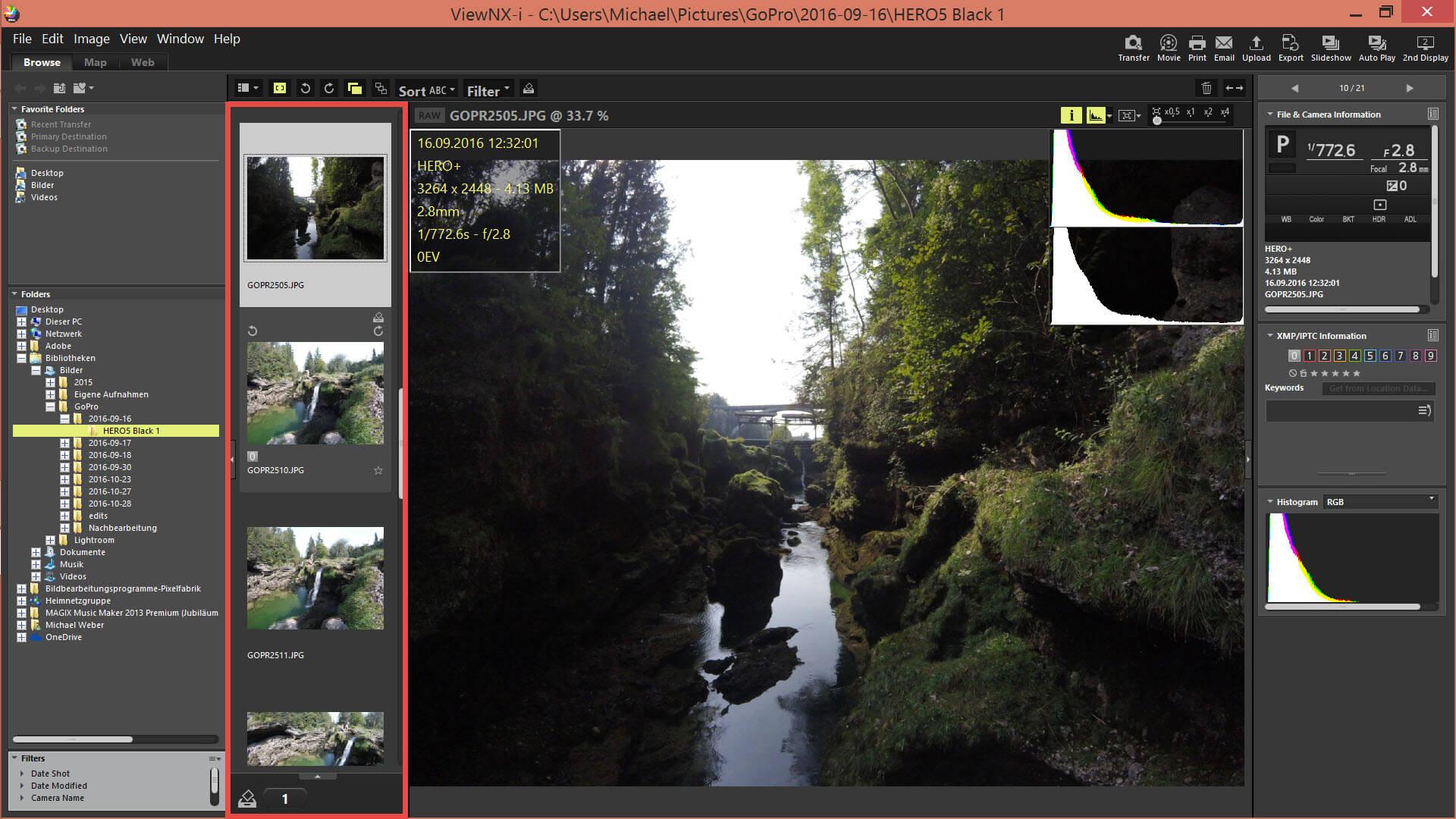 Nikon View NX-i
