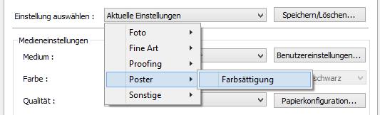 Einstellungen auswählen_Poster_Farbsättigung