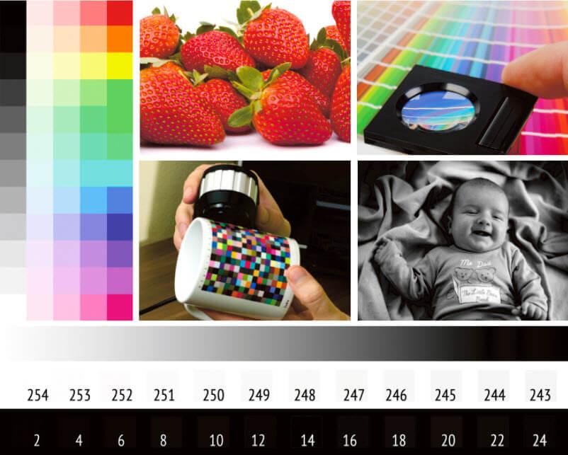 Tiefenkompensierung deaktiviert, Renderpriorität Relativ Farbmetrisch