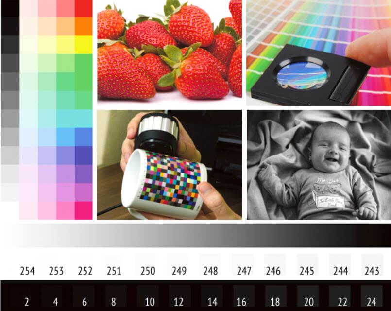 Tiefenkompensierung aktiviert, Renderpriorität Relativ Farbmetrisch
