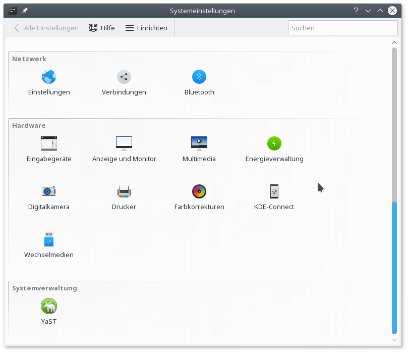 Linux - Farbkorrekturen
