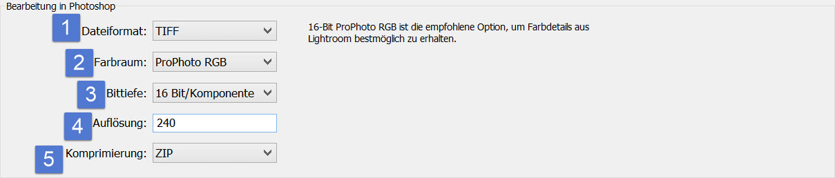 Lightroom - Externe Bearbeitung in Photoshop