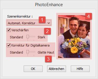 EPSON Drucker Farbmanagement/PhotoEnhance