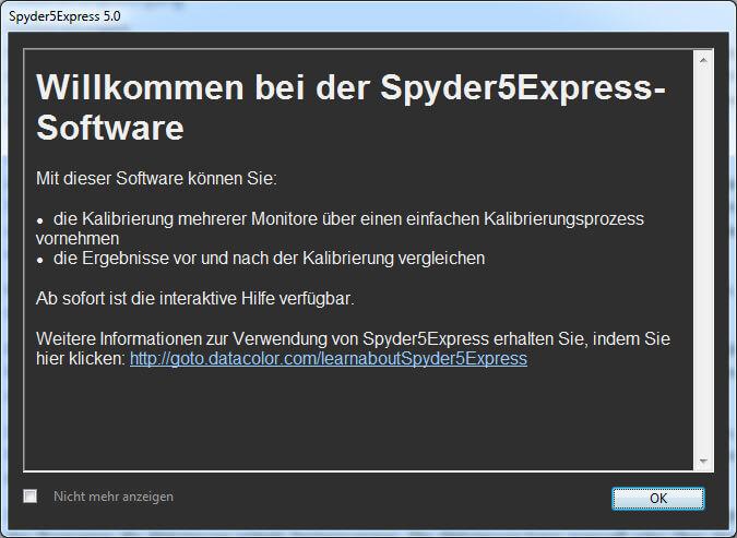 00 Willkommensfenster Spyder 5 Express