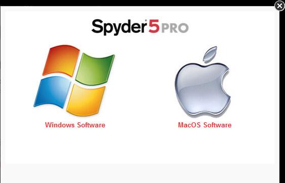 01 Installation Spyder 5 Pro
