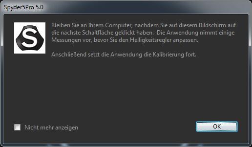 11 Infofenster Spyder 5 Pro
